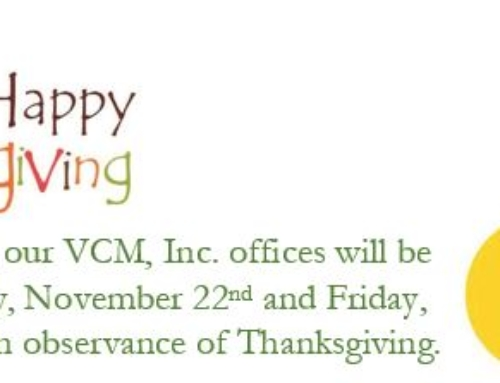 Happy Thanksgiving from VCM, Inc.
